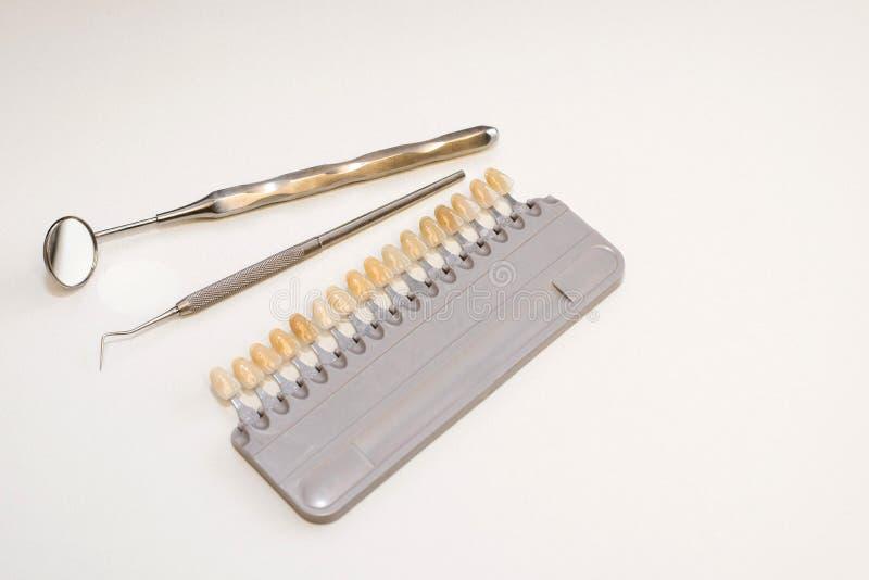 Implante dental plástico imagem de stock