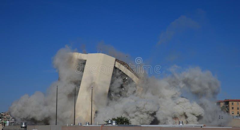 Implosion photo stock