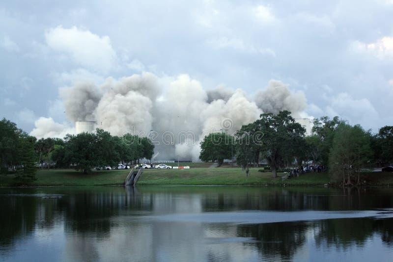 Implosion d'arène d'Orlando Amway (6) photographie stock libre de droits