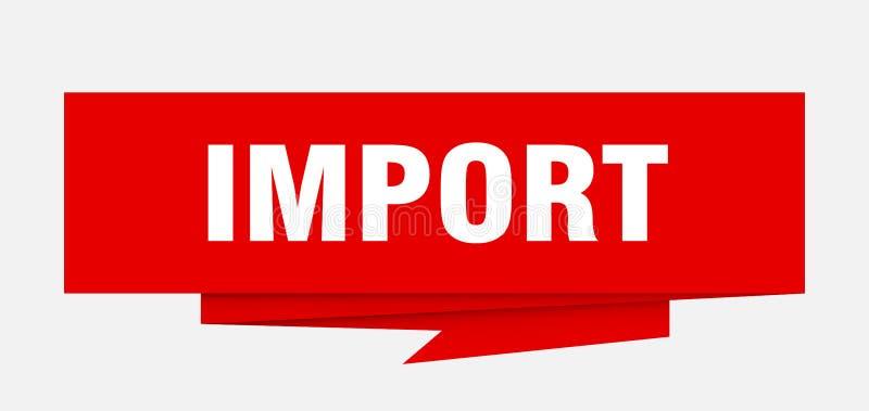 importação ilustração royalty free