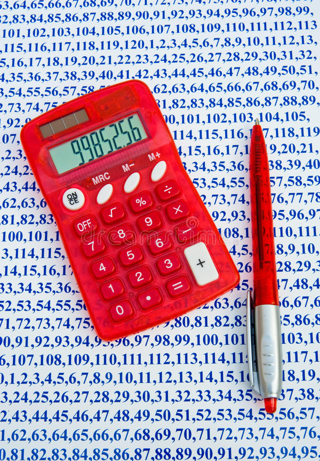 Download Importance of numbers. stock photo. Image of programmed - 22975224