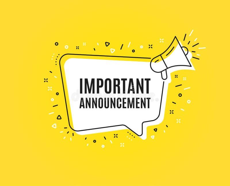 Announcement Symbol Stock Illustrations – 75,759 Announcement Symbol Stock  Illustrations, Vectors & Clipart - Dreamstime