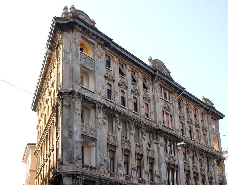 Important building in Trieste Friuli Venezia Giulia (Italy). Photo made an important building in Trieste in Friuli Venezia Giulia (Italy). In the picture you see stock image