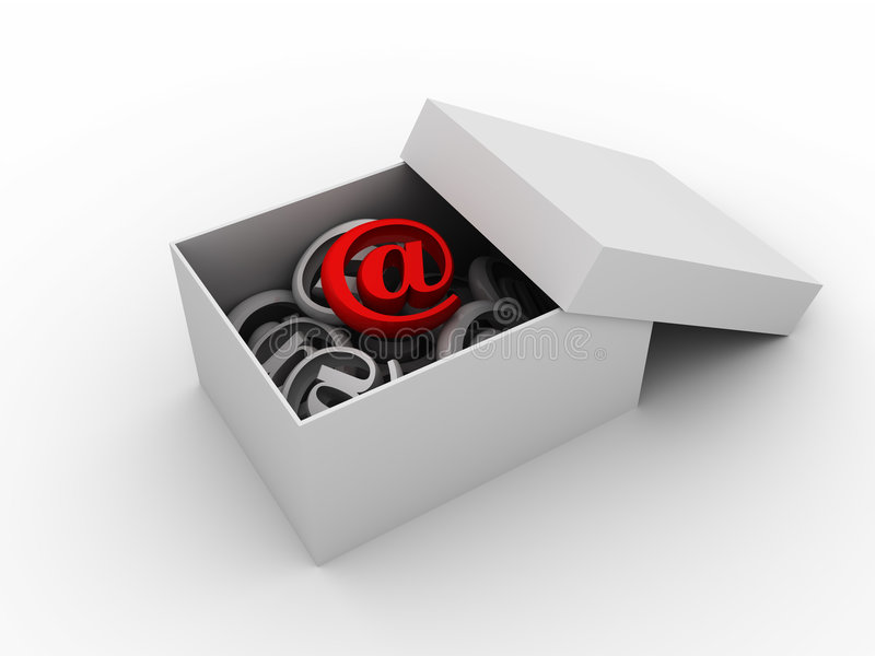 Important mail vector illustration