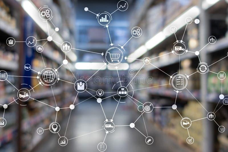 Importera ordbegrepp för export och logistik Industribakgrund arkivfoton