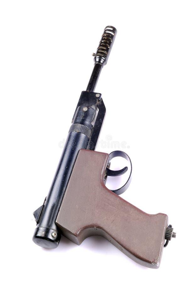 importujący lotniczy pistolet zdjęcie stock