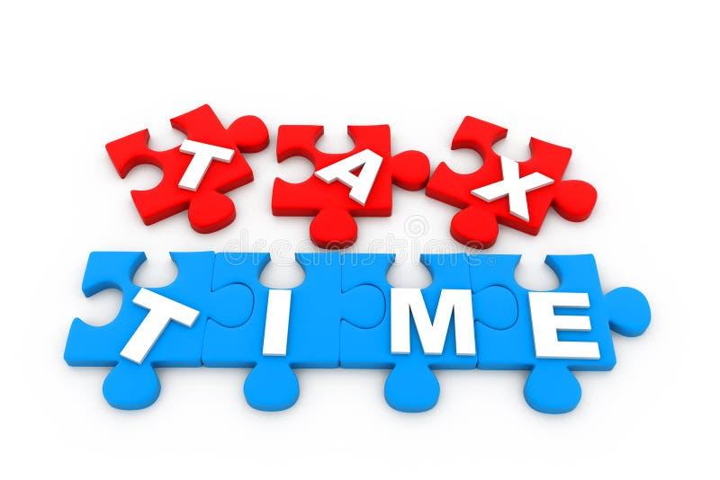 Imposez le temps illustration libre de droits