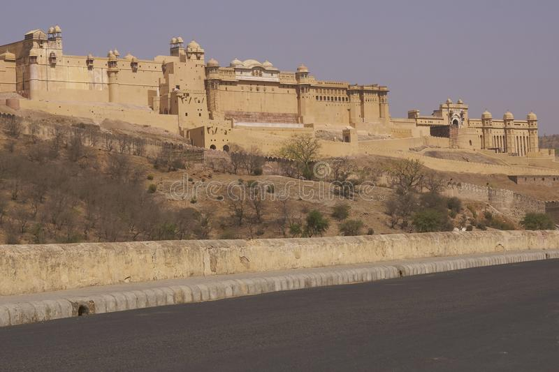 Amber Fort in  Jaipur, Rajasthan India. stock images