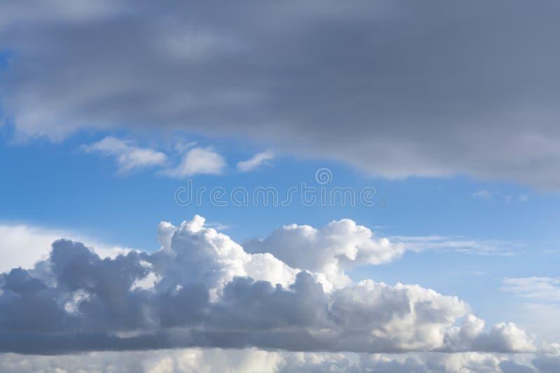 Imposing clouds hanging over Zoetermeer, Netherlands 1.  stock photo