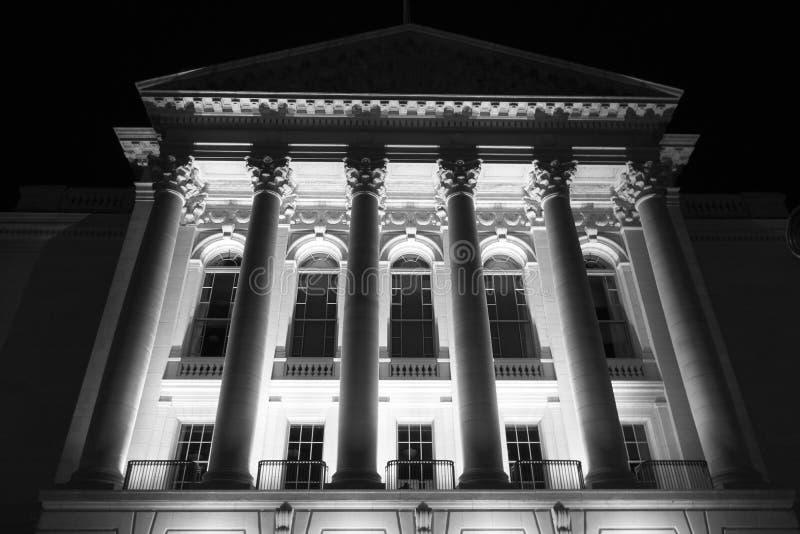 Imposing Wisconsin Capitol stock image