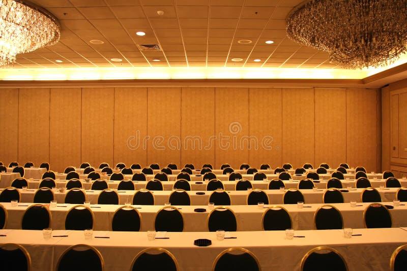 Impostazione convenzionale di riunione d'affari immagine stock libera da diritti