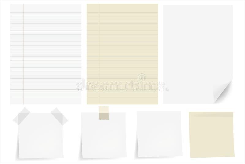 Imposti i documenti illustrazione di stock