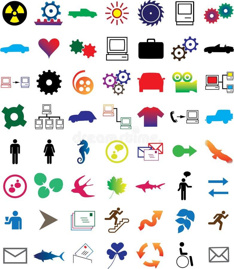 Imposti le Web-icone - 2 illustrazione di stock