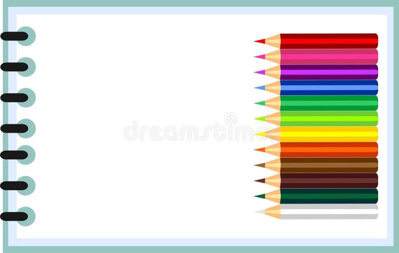 Imposti per creatività dei bambini royalty illustrazione gratis