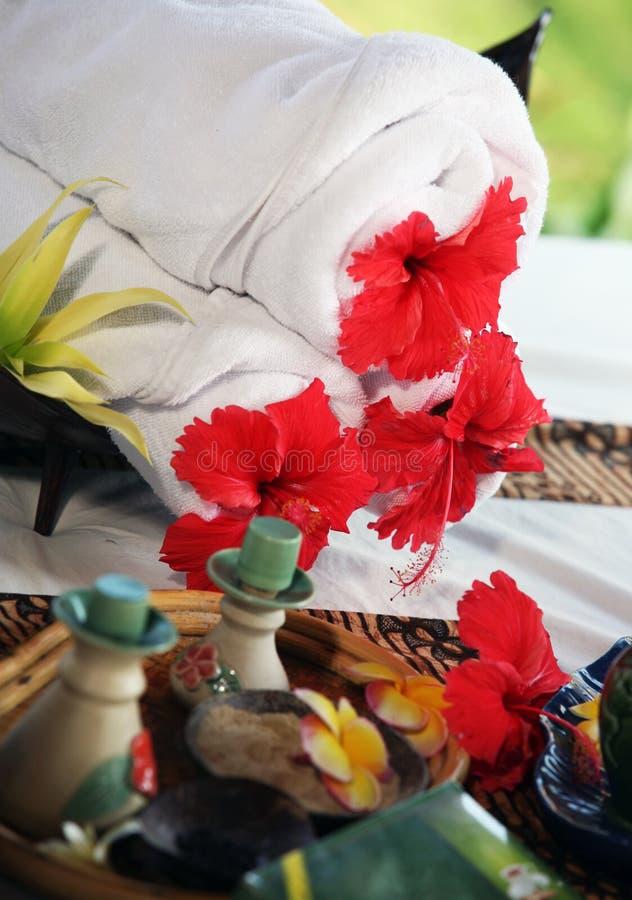 Imposti per il massaggio fotografie stock libere da diritti