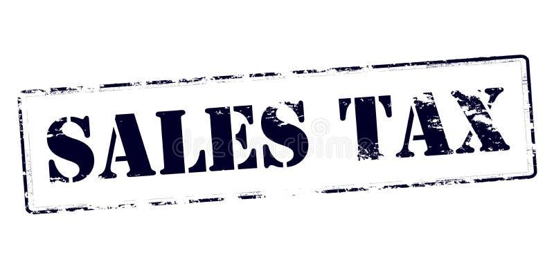Impostos sobre venta ilustração royalty free