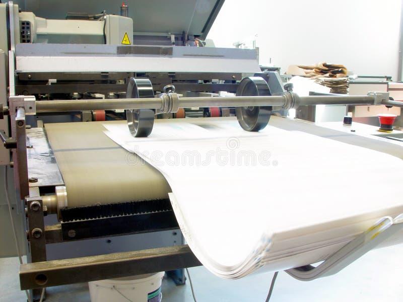 Imprensa de impressão foto de stock