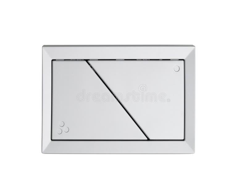 Download Imprensa Do Resplendor Do Toalete Da Parede Com Os Dois Botões Separados Imagem de Stock - Imagem de parede, saving: 29830103