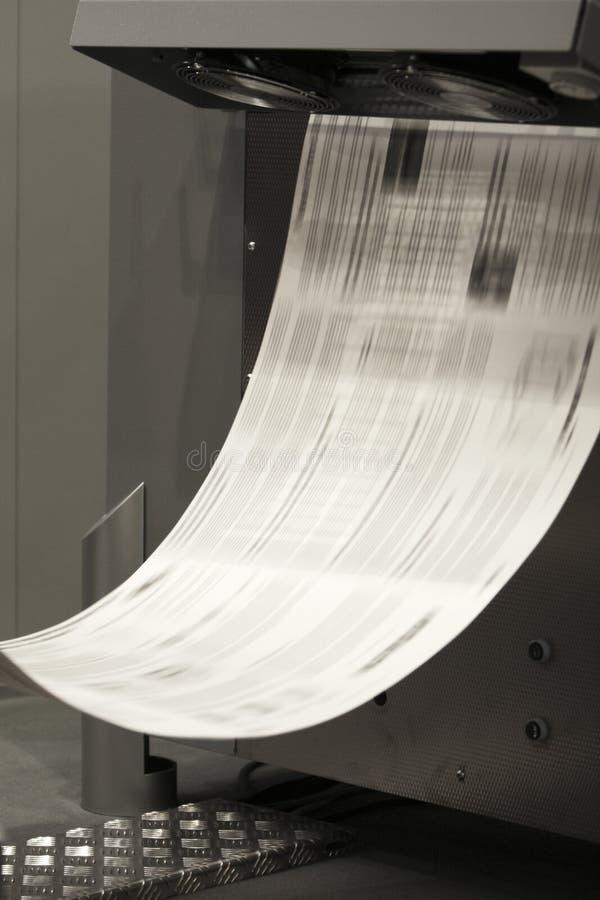Impresión foto de archivo