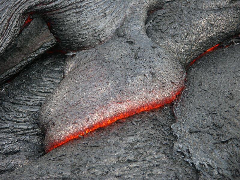 Impresión de la lava fotografía de archivo libre de regalías