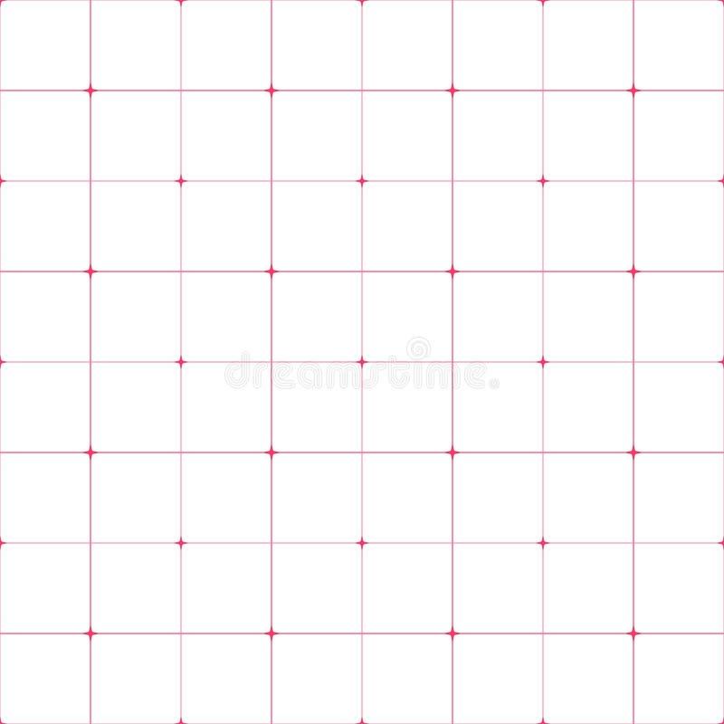 Impresión de la tela Modelo geométrico en la repetición Fondo inconsútil ilustración del vector