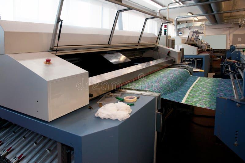 Impresión de materia textil de Digitaces imágenes de archivo libres de regalías