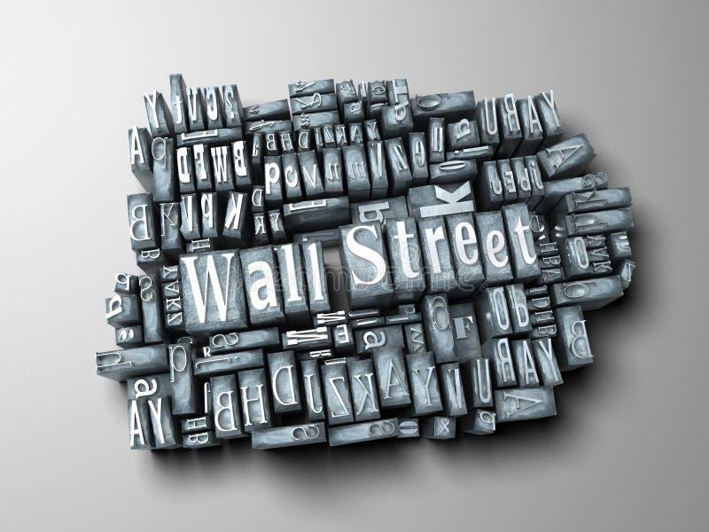 Impresión de Wall Street libre illustration
