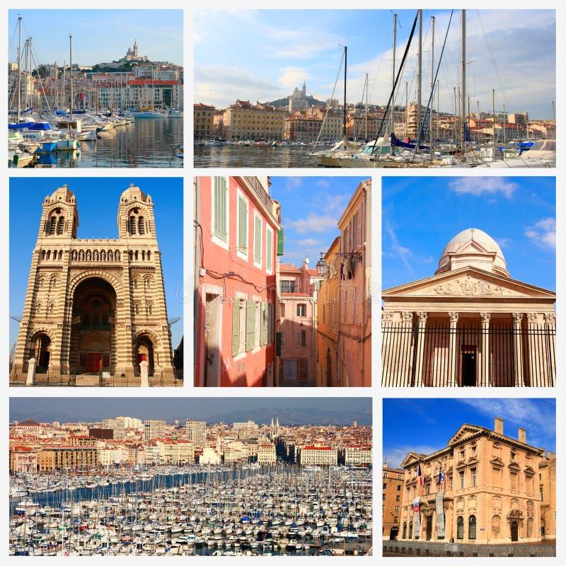 Impresiones de Marsella imágenes de archivo libres de regalías
