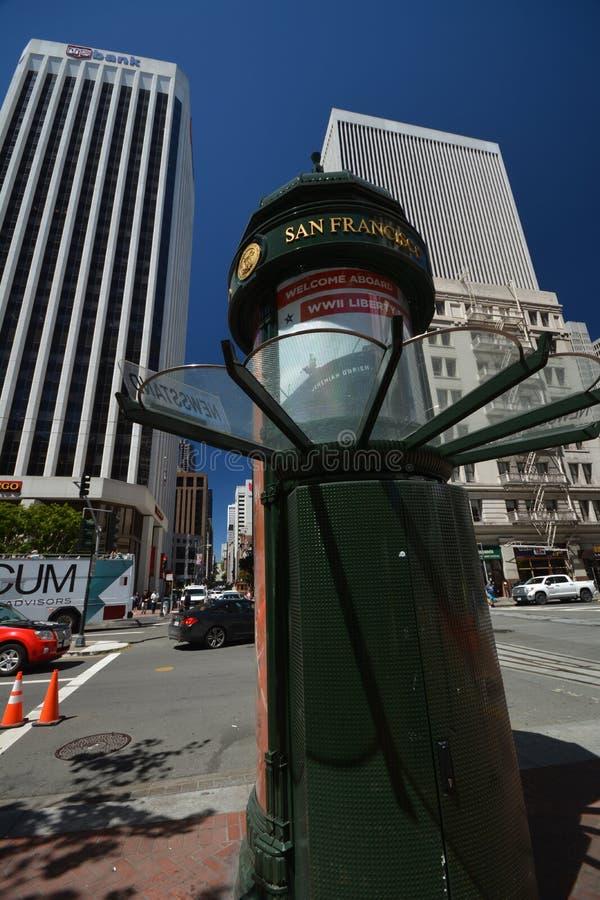 Impresiones de San Francisco, California los E.E.U.U. foto de archivo
