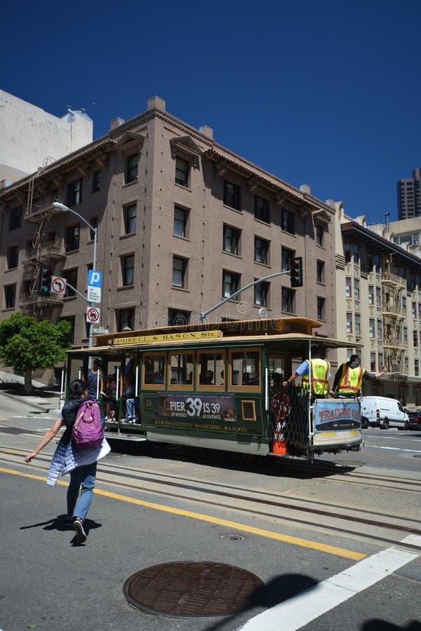 Impresiones de San Francisco, California los E.E.U.U. fotografía de archivo