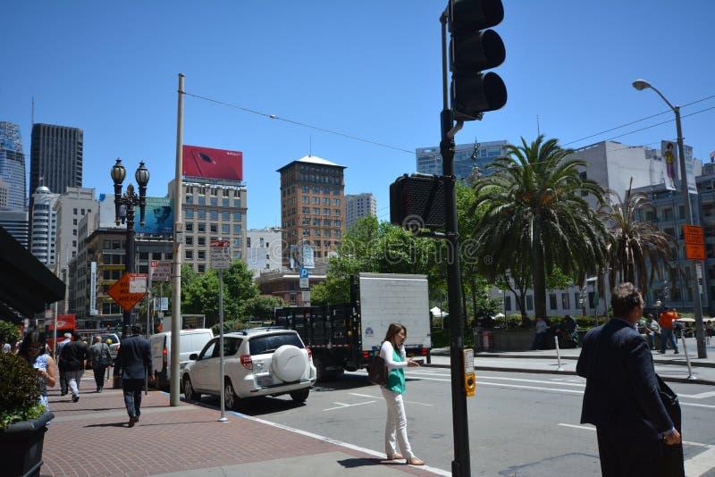 Impresiones de San Francisco, California los E.E.U.U. imagen de archivo