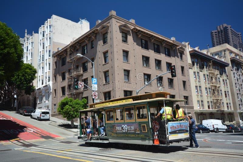Impresiones de San Francisco, California los E.E.U.U. fotografía de archivo libre de regalías