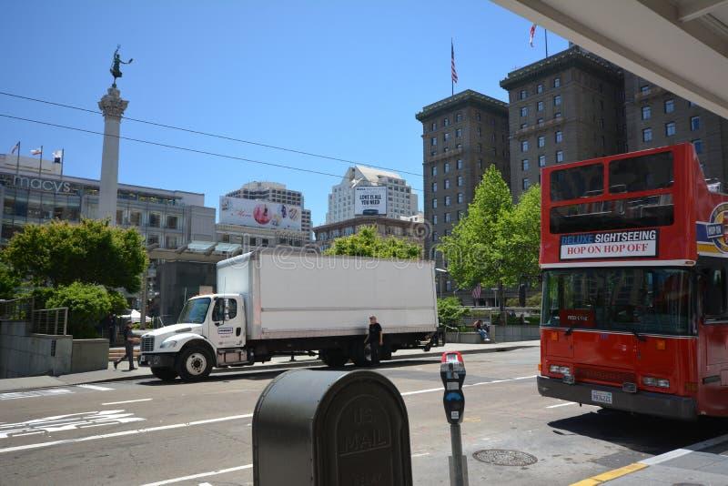 Impresiones de San Francisco, California los E.E.U.U. imagenes de archivo