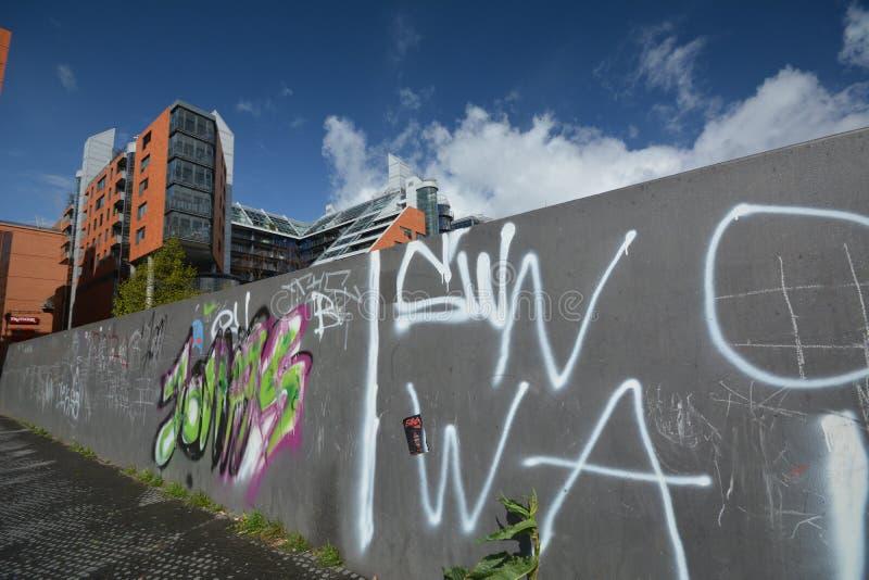 Impresiones del cuadrado de Potsdam, Potsdamer Platz en Berlín a partir del 11 de abril de 2017, Alemania imagen de archivo libre de regalías