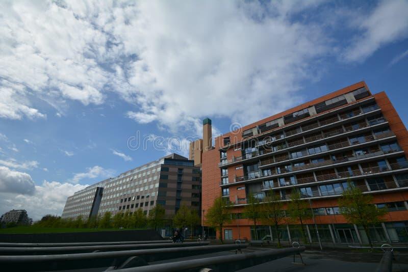 Impresiones del lugar de Potsdam, Potsdamer Platz en Berlín, 2017, Alemania fotos de archivo libres de regalías