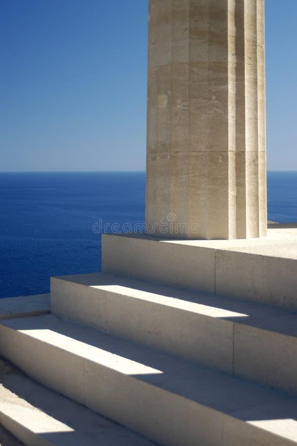 Impresiones griegas fotos de archivo