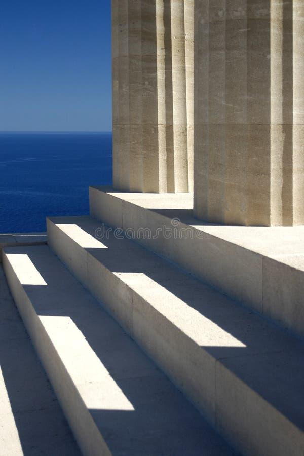 Impresiones griegas foto de archivo libre de regalías