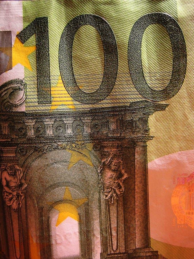 Impresiones macras de la bella arte del papel pintado del fondo del dinero fotografía de archivo libre de regalías