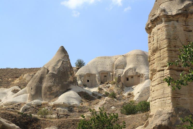 Impresivestenen in Cappadokia stock fotografie