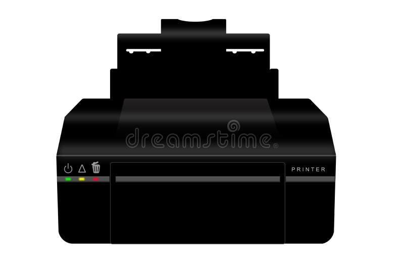 impresora stock de ilustración