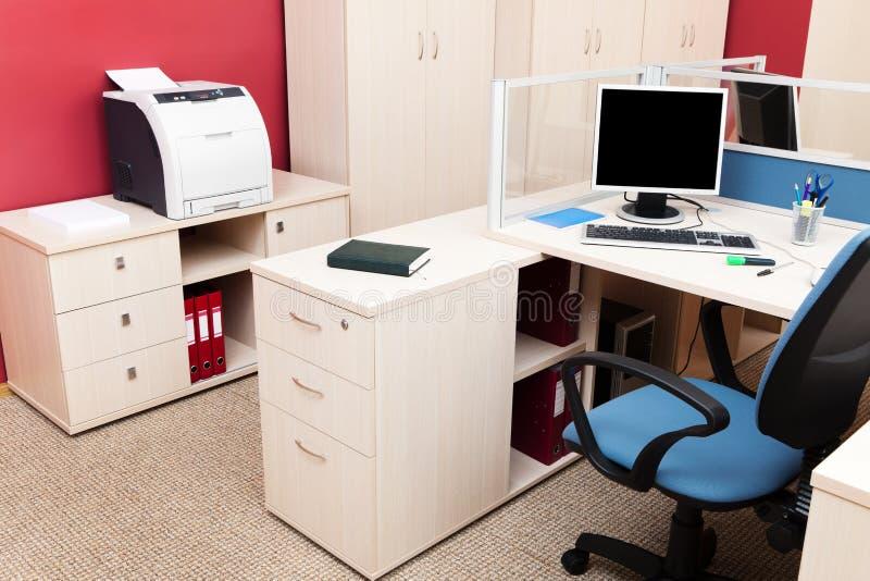 Impresora y ordenadores foto de archivo libre de regalías