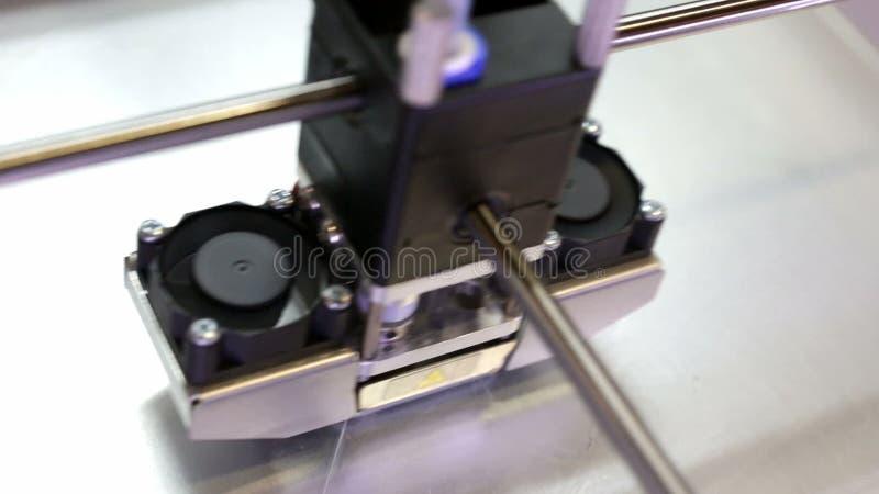 impressão da impressora 3d video estoque