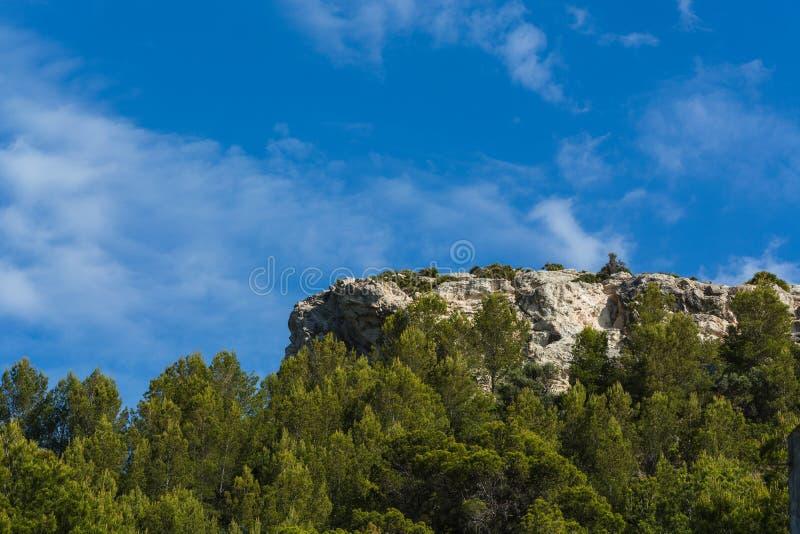 Impressões bonitas do mediteran fotografia de stock royalty free