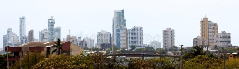 Impressões de Cartagena as Caraíbas fotografia de stock royalty free