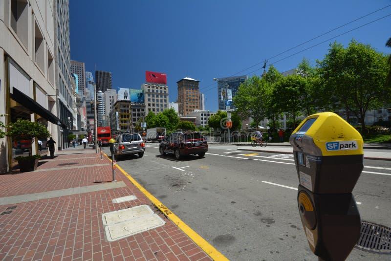Impressões de San Francisco, Califórnia EUA fotos de stock