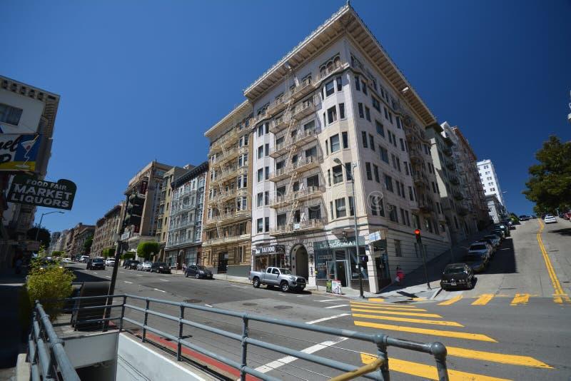 Impressões de San Francisco, Califórnia EUA imagem de stock
