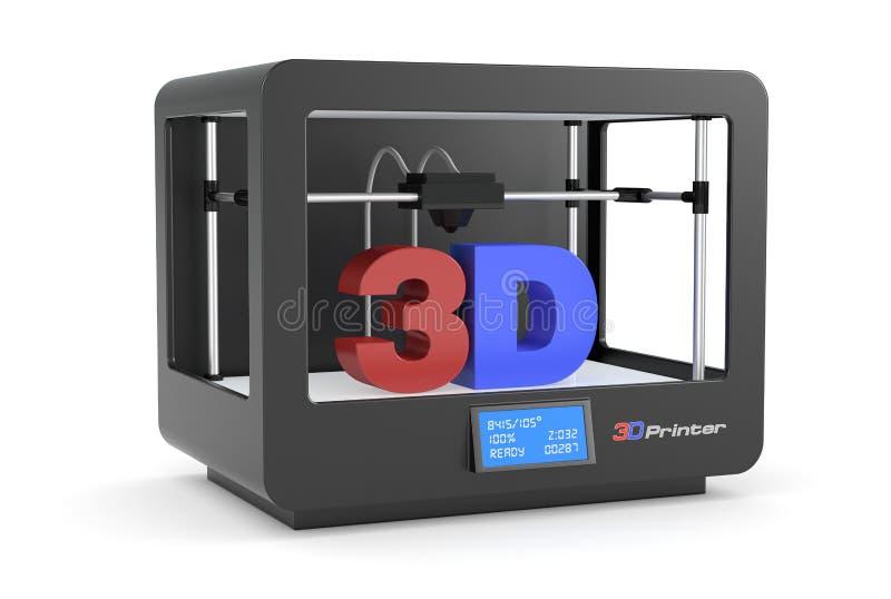 impression 3D illustration libre de droits