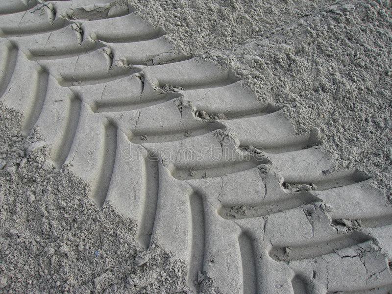 Impression de pneu photos libres de droits