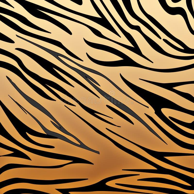Impression de tigre illustration stock