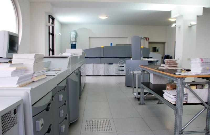 impression digitale de presse image stock